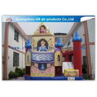 China Princess And Rose Jumper With Slide Commercial Jumping Castle Inflatable Combo on sale