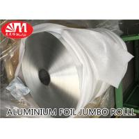 Wholesale Plain Aluminium Foil Jumbo Roll Food Grade Material 15 Micron Thickness from china suppliers