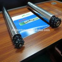 Buy cheap Material Handling Adjustable Roller Conveyor With Double Sprockets from wholesalers