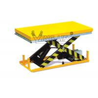 Wholesale Heavy Duty Stationary Lift Table Electric Scissor For Pharmaceutical Industry from china suppliers