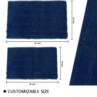 Wholesale Loop Pile Latex Backed Bath Mats from china suppliers