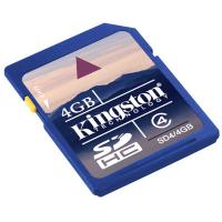 Wholesale Wireless Kingston SD Memory Card, 4G Kingston Sd Card,  2Mb / s from china suppliers