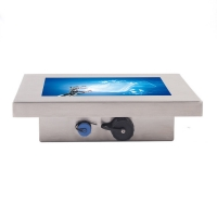 Wholesale IP65 1xDC Jack Waterproof LCD Monitor Fully Sealed from china suppliers