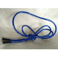 Soft / Matt Silicone Ending Zipper Cord With 2.5mm Cotton String