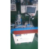 Low Defective Rate Female Solder Wire Making Machine Digital Operated With 7 Inches Touch Screen