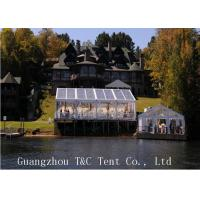 Wholesale Restaurant Or Garden 20x40 Party Tent , Clear Outdoor Event Tent With Transparent PVC Roof from china suppliers