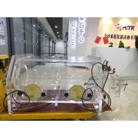 China Noble Gas Laboratory Vacuum Glove Box With Pressure Anti Climate Changing on sale