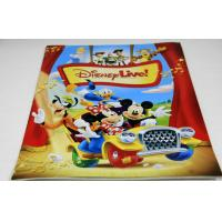 Wholesale Full Color Saddle Stitch Book Binding / Disney Magazine Printing Service from china suppliers