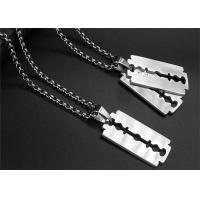 China Unique Religious Stainless Steel Chain Necklace For Men Daily Wear wholesale