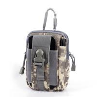 China Camo Army Waist Pack / Molle Waterproof Gadget Pouch Waist Bag Pack wholesale