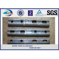 Buy cheap Oiled / Oxide Black Rail Joint Bar / Fishplates With GB Standard from wholesalers