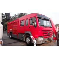 Wholesale 4600mm Wheel Base Rescue Fire Truck , Model Fire Engine Truck With 4 Doors from china suppliers