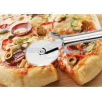 Buy cheap Round Pastry Stainless Steel Pizza Cutting Knife Multi Functional Heavy Duty from wholesalers
