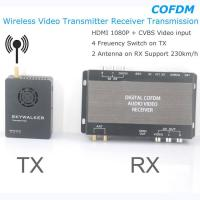 Wholesale COFDM Wireless Video Transmitter Receiver Transmission HDMI HD 1080P composite CVBS in H.264 COFDM-904T from china suppliers