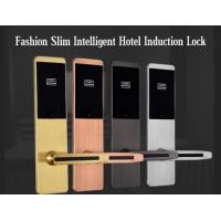 Wholesale Ultra Thin RFID Hotel Door Locks , Zinc Alloy Material IC Card Induction Lock from china suppliers