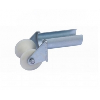 Buy cheap Electrical Bellmouth Split Lock 80mm Cable Roller For Pulling Cables from wholesalers
