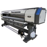 Wholesale Epson DX5 Print Head 1.8M Eco Solvent Printer For Vinyl / Perforate Window / Banner Printing from china suppliers