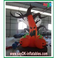 Gaint inflatable holiday decorations led lighting for halloween party