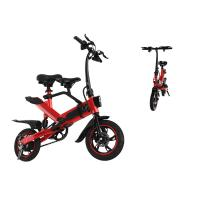 Child Small Folding Electric Bike Urban 25 Km / H Tourism Folding Bicycle