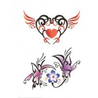 Wholesale OEM/ODM flower glitter body transfer tattoos stickers from china suppliers