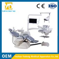 China Dental Unit Folded With Top-mounted Tool Tray Linak Brand Motor wholesale
