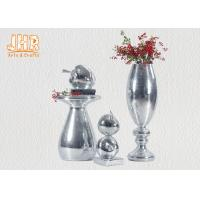Wholesale Small Mosaic Glass Fiberglass Apple With Square Base Sculpture Decoration from china suppliers