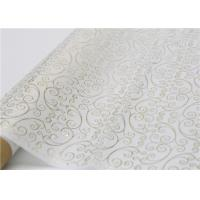 Wholesale Moistureproof Hot Stamping Tissue Paper One Side For Flower Wrapping from china suppliers