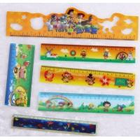 Wholesale 3D lenticular printing flip pattern cheap promotional plastic ruler from china suppliers