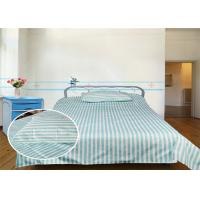 Wholesale Economy Hospital Bed Fitted Sheets 40S 220TC Stripe 100% Cotton from china suppliers