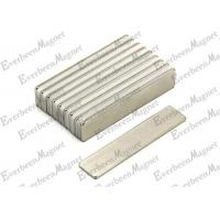 Wholesale Neodymium Block Magnets 12 x 7 x 2mm N44H Nickel Silver Coating- pull 1,5 kg For Sensor from china suppliers
