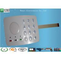 Wholesale 3M467 MP200 Metal Dome Membrane Switch Keypad Sand Effec 0.15 PET Overlay With 3 SMT LEDs from china suppliers