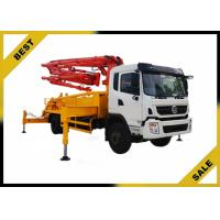 Wholesale Isuzu Chassis 37 Meter Small Concrete Boom Pump Truck  Highly Wear - Resistant from china suppliers