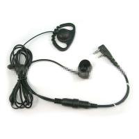 Wholesale Zig zag D shape with finger PTT ear hanging earphone from china suppliers