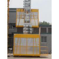 Wholesale Customized Painted Construction Lifting Equipment Double Cage from china suppliers