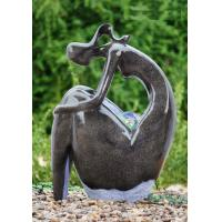 China Customized Shape Outdoor Water Fountain Statues Garden Fountains For Home wholesale