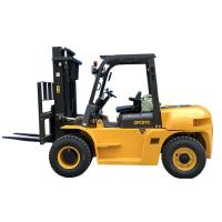 Wholesale Mining Enterprises Sit Down Counterbalanced Forklift , 7 Ton Heavy Duty Forklift from china suppliers