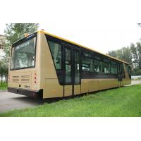 Wholesale Low Carbon Alloy Steel 51 Passenger Airport Apron Bus , 4 Strok Diesel Engine Bus from china suppliers
