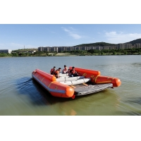 Wholesale Lb-Ts6 60hp Inflatable Rescue Boat Transport Ship Raft from china suppliers