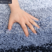 Wholesale Non Slip Faux Wool Fluffy Water Absorbent Tufted Bath Mat from china suppliers
