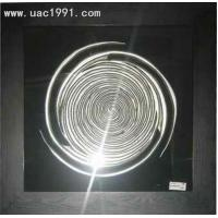 Wholesale Interior 3d Wall Art UA5752 Silver MDF Framed Art Decoration from china suppliers
