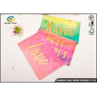 Wholesale Custom Colorful Paper Birthday Wishes Greetings Card Glossy Lamination from china suppliers