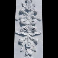 Wholesale Marble stone relief wall flower carving panels with polished,China stone carving Sculpture supplier from china suppliers