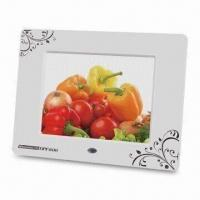 Wholesale Digital Photo Frame with 800 x 600 Pixels High Resolution and Built-in 256MB Flash Memory from china suppliers