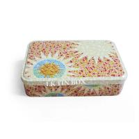 New Design Rectangular Chocolate Candy Tin Box For Christmas And Wedding