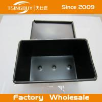 Wholesale Aluminium Non-Stick Corrugated Toast Bread Box- toast bread baking pan with lid from china suppliers