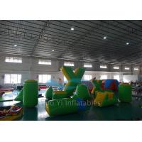 Wholesale 0.6mm PVC Tarpaulin Inflatable Air Bunkers For Paintball Arena from china suppliers