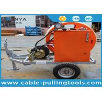 Hydraulic Cable Puller For Sale : Ton hydraulic winch type cable tensioners