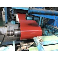 China Venting Lines Steel Sheet Coil , 2H Pencil Hardness Pre Painted Gavlanized  Sheet Metal wholesale