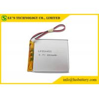 Wholesale LP354453 3.7 V 800mah Battery PL354453 Lithium Polymer Rechargeable Battery 800mah 3.7v li po battery from china suppliers