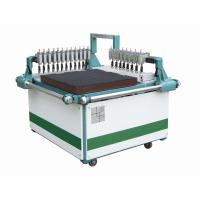 Double Strength Glass Cutting : Double bridges manual glass cutting machine with